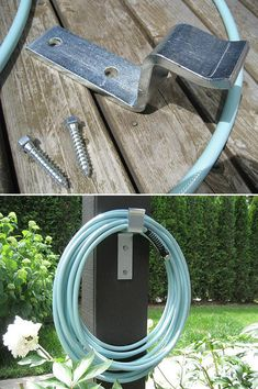 DIY Garden Hose Storage - Ideas & Tutorials!