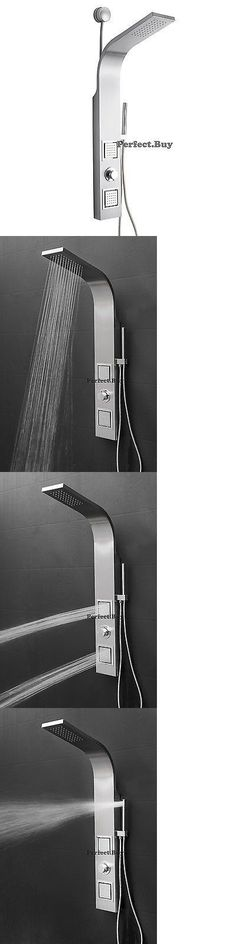 Massagers: 39 Easy Connect Shower Panel W Massage Spray Rainfall Head Stainless Steel -> BUY IT NOW ONLY: $99.99 on eBay!