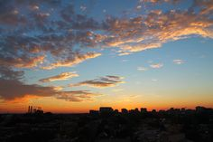 Clouds at Sunset by Tom Ipri, via Flickr
