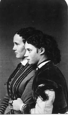 Empress Marie Feodorovna and Eugenie of Leuchtenberg. Princess Eugenia Maximilianovna of Leuchtenberg, (1845 - 1925) a member of the French House of Beauharnais, though born and raised in her mother's native Russia, the child  of Maximilian de Beauharnais, 3rd Duke of Leuchtenberg and  Grand Duchess Maria Nikolaevna of Russia.  The empress and the princess were very close, & arranged a marriage between 2 of their children.
