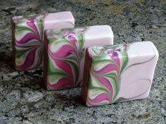 Stargazer Lilies, Recipe & Technique for making this beautiful soap.