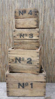 Leuke kisten voor in je huis of tuin. Te bestellen via www.worldoutdoorshop.nl