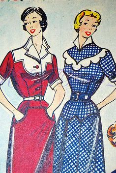 50s fashion inspiration photo
