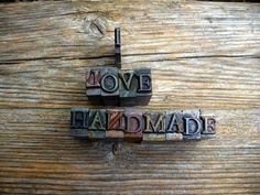 Handmade is beautiful
