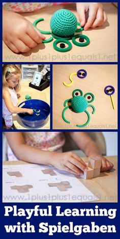 Playful Learning with Spielgaben ~ 1st Grade Homeschool Fun