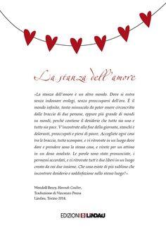 Si, siamo tutti d'accordo: San Valentino è un'operazione commerciale bella e buona (Bridget Jones docet). Ma il mondo non sarebbe un posto più bello se ad augurarci un buon San Valentino fosse uno... (continua su http://ophelinhapequena.com/2015/02/14/wendell-berry-be-my-valentine/)
