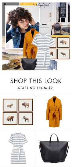 """""""Delightful Yellow"""" by africagirls ❤ liked on Polyvore featuring Balmain, Burberry and Charlotte Russe"""