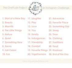 November 2014 challenge
