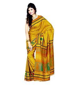 Miraan Art Silk Printed Saree SD5357