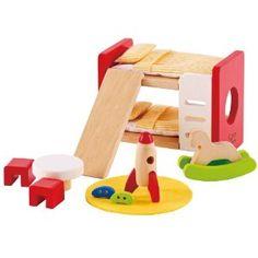 Naw! Hape Children's Room dollhouse furniture