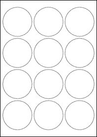 Health Care Logistics  Blank Circle Label  Products
