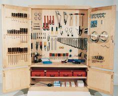 Tool storage cabinet idea...