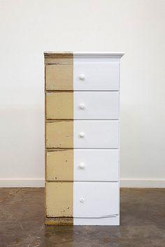 roy mcmakin. Inspiration for reusing old furniture.