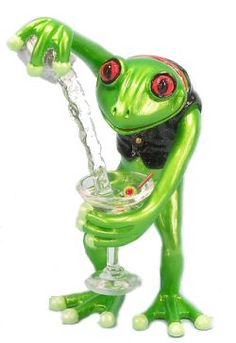 Bartender - Frog Figurine #MadeinUSA http://www.collectibleshopping.com/culinary-kitchen/bartender-frog-figurine $179.99
