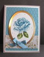 Elegant Card for Any Occasion by Hallie Justice using the Stippled Blossoms stamp set from Stampin' Up!