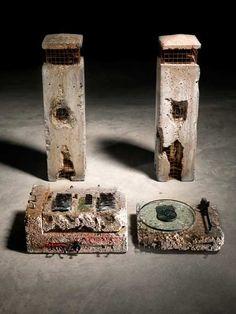Ron Arad concrete stereo