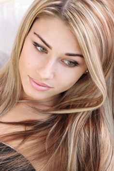 blonde highlights #hair