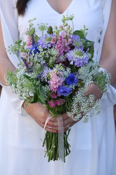 DIY Bouquet: Whimsical Wildflower Bouquet | FiftyFlowers the Blog