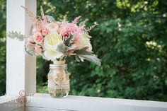 Blush Bridal Bouquet | Monadnock Berry Farm | Troy, NH