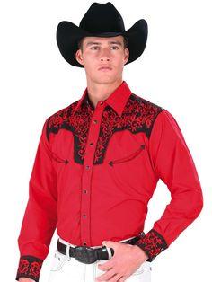 33148 Camisa Vaquera Caballero El Senor De Los Cielos EG
