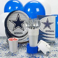 NFL® Dallas Cowboys™ Party Supplies