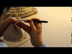 Punto de espiga o Punto Trenza. Tutorial Crochet - YouTube