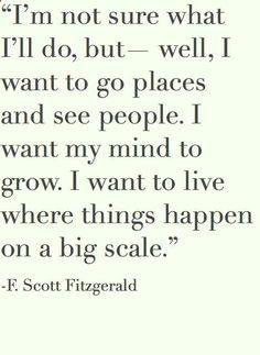 -F Scott Fitzgerald