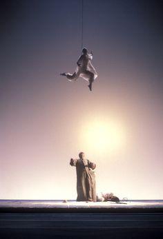 1978 La tempesta di William Shakespeare, regia di Giorgio Strehler, foto Luigi Ciminaghi
