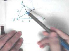 Как не надо решать задачи по геометрии С2 С4 на ЕГЭ по математике. Что нужно знать о треугольнике: Равнобедренный треугольник. Биссектриса равнобедренного треугольника, проведенная к основанию является медианой и высотой. Репетитор по математике.