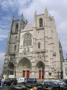 The Cathédrale St-Pierre-St-Paul (Nantes Cathedral), in the region of Brittany, is one of France's last Gothic cathedrals, built well after most other medieval cathedrals had been completed.