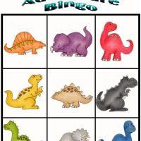 Dino Adventure Bingo 1