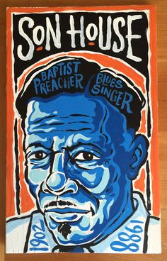 Son House by Grego Anderson - available at www.mojohand.com - Everything Blues.