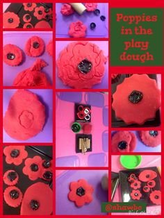 Poppy Spielteig Source by Poppy Activities For Toddlers, Playdough Activities, Remembrance Day Activities, Remembrance Day Poppy, Toddler Crafts, Crafts For Kids, Anzac Poppy, Poppy Craft For Kids, Remembrance Day