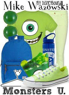 Mike Wazowski fashion from Monsters University