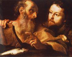 S. Andrea e S. Tommaso intorno al 1627 olio su tela, 59 x 76 cm National Gallery, Londra