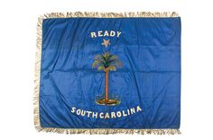 Banner of 1st Company (A), Battalion of Artillery (Charleston Museum)