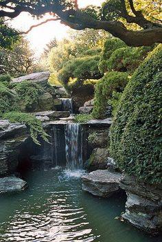 Waterfall Garden, Kyoto, Japan