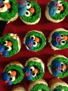 Boston Red Sox Wally cupcakes
