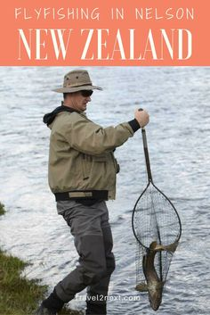 Flyfishing in Nelson NZ. Fishing for brown trout is a memorable experience in the stunning northwest of New Zealand's South Island.