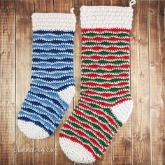 Using regular worsted weight yarn, a handful of colors and the puff stitch, you too can make your own Holly Jolly Holiday Crochet Stocking. This easy crochet Christmas pattern is available in two sizes, regular and large. Crochet Christmas Stocking Pattern, Crochet Stocking, Holiday Crochet, Christmas Knitting, Christmas Patterns, Christmas Crafts, Christmas Items, Christmas Decorations, Thanksgiving Crochet