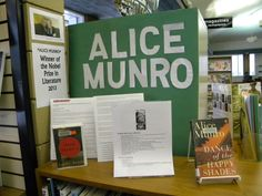 Alice Munro, Nobel Prize for Literature Winner! Read her fabulous work! Open Dance, Alice Munro, Nobel Prize, Literature, Display, Reading, Literatura, Floor Space, Billboard