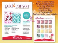Don't miss out on fundraisers!!  www.aascandles.mygc.com
