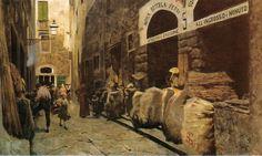 """Telemanco Signorini ~ """"La Via del Fuoco"""", 1881"""
