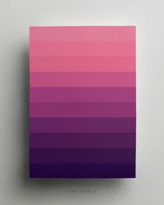 Purple gradient poster - linxsupply.com.