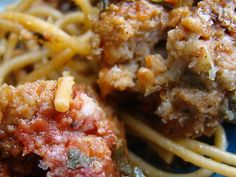 Ina Garten's Spaghetti and Meatballs  The BEST.
