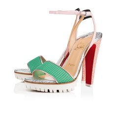 756f702c82a9 Christian Louboutin United States Official Online Boutique - Volumetric 120  Version Opal Fabric available online.
