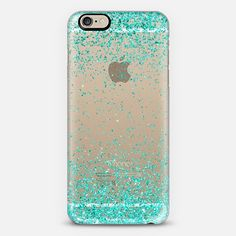 Turquoise Sparkly Glitter Burst iPhone 6 Case by Organic Saturation | Casetify. Get $10 off using code: 53ZPEA