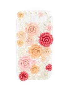 Rosette & Pearl Galaxy S3 Case: Charlotte Russe