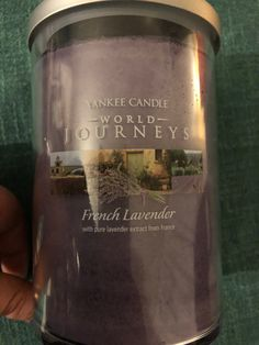 Yankee Candle French Lavender (World Journeys Collection) - Large Pillar