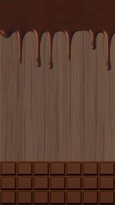 Because chocolates are the best! Jungle Pattern, Chocolate Walls, Chocolate Chocolate, Molduras Vintage, Desenho Pop Art, Lotus Flower Art, Wallpaper Shelves, Relaxing Art, Yummy Ice Cream
